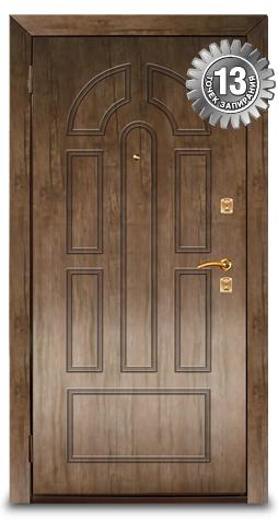 Взломостойкие двери ЭЛЬБОР серии СТАНДАРТ
