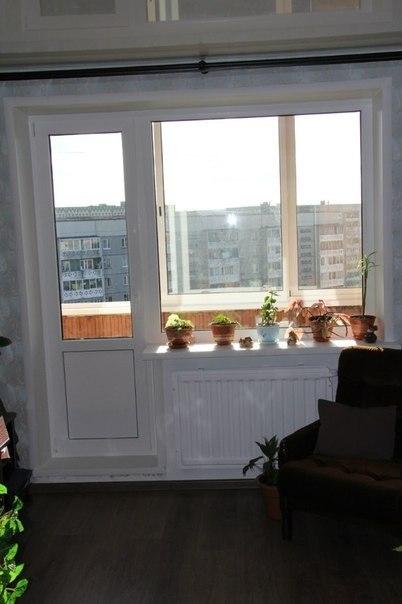 Балконный блок мир комфорта.